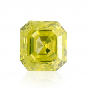 Fancy Intense Greenish Yellow Diamond