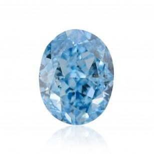 Fancy Vivid Greenish Blue Diamond