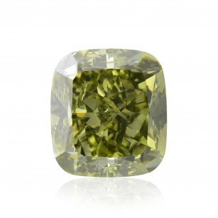 Fancy Deep Grayish Yellowish Green Diamond