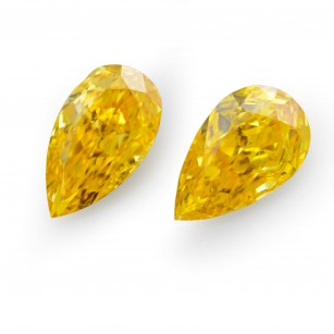 Fancy Vivid Orange Yellow Diamond