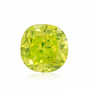 Fancy Vivid Green Yellow Diamond