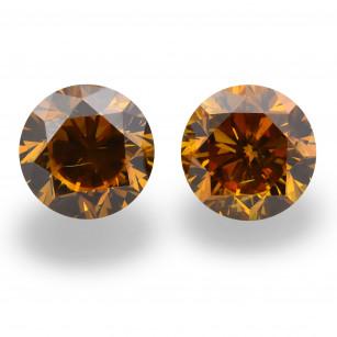 Fancy Deep Brownish Yellowish Orange Diamond