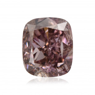 Fancy Dark Brown Purple Diamond
