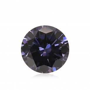 Fancy Deep Grayish Bluish Violet Diamond