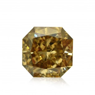 Fancy Dark Yellow Champagne Diamond