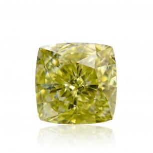 Fancy Deep Greenish Yellow Diamond