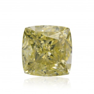 Fancy Light Brownish Greenish Yellow Diamond