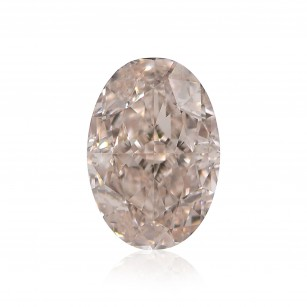 Fancy Light Orangy Pink Diamond
