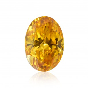Fancy Vivid Yellowish Orange Diamond