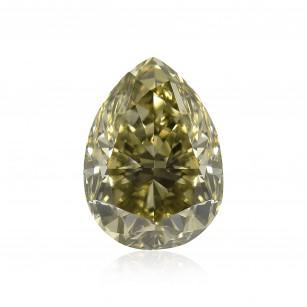 Fancy Dark Gray Yellowish Green Diamond
