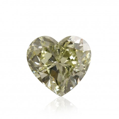 Fancy Grayish Yellowish Green Diamond