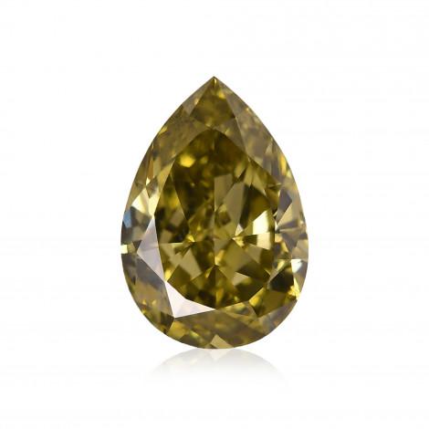 Fancy Deep Green Chameleon Diamond