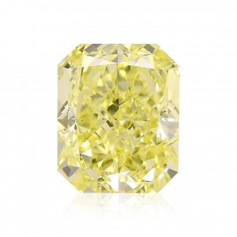 2.21 carat, Fancy Intense Yellow, Radiant Shape, IF Clarity, GIA, SKU 174876