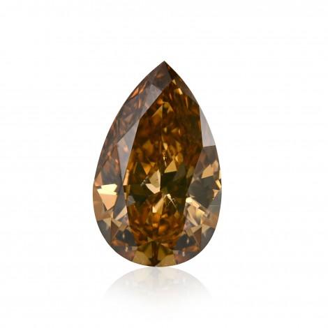 Fancy Dark Orangy Champagne Diamond