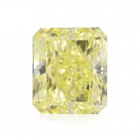 3.34 carat, Fancy Yellow, Radiant Shape, IF Clarity, GIA, SKU 182166