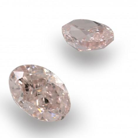16f304f777391 0.88 carat, Fancy Light Pink Diamonds, Oval Shape, VS2 Clarity, GIA, SKU  349158