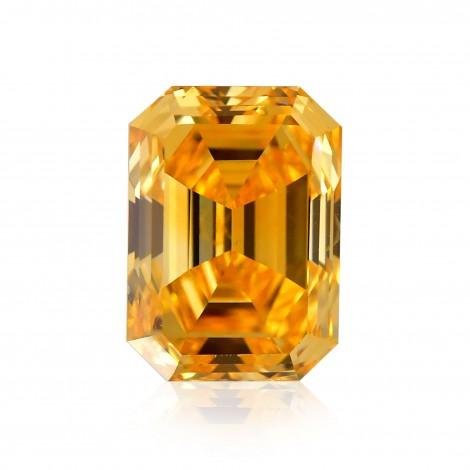 Fancy Vivid Yellow Orange Diamond