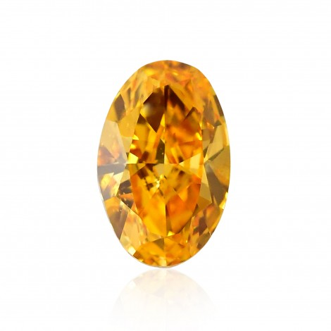 Fancy Vivid Yellow Orange Diamond
