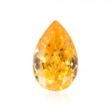Fancy Intense Yellow Orange Diamond