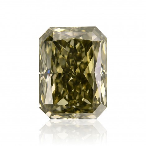 Fancy Dark Green Champagne Diamond