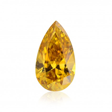 Fancy Intense Orange Yellow Diamond