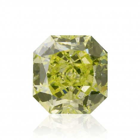 Fancy Intense Yellow Green Diamond