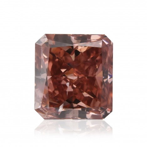 Fancy Deep Orangy Pink Diamond
