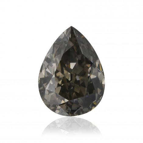 Fancy Dark Greenish Gray Diamond