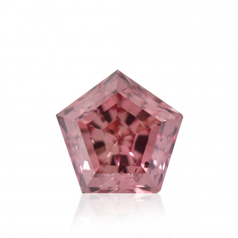 Fancy Intense Orangy Pink Diamond