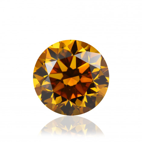 Fancy Deep Yellow Orange Diamond