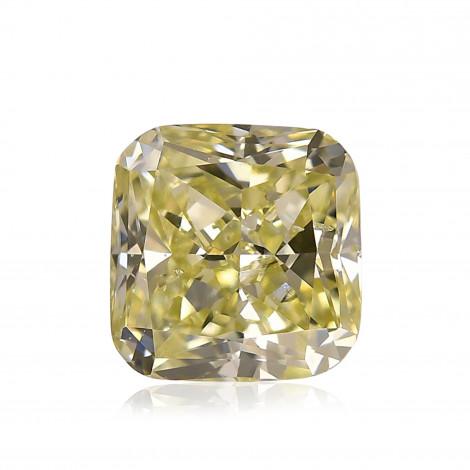 Fancy Grayish Greenish Yellow Diamond