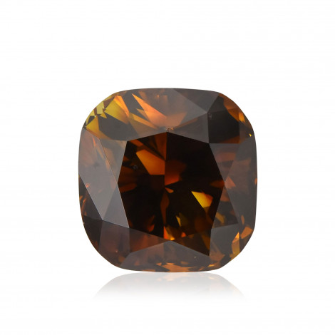 Fancy Dark Orange Champagne Diamond