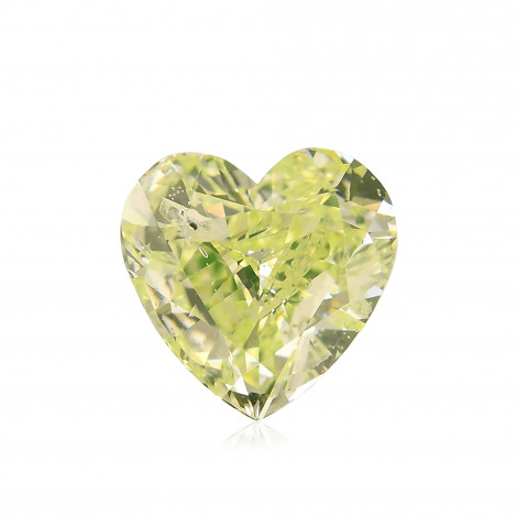 Fancy Intense Yellowish Green Diamond