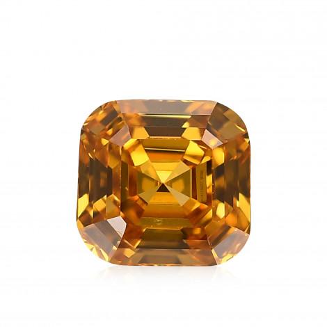 Fancy Vivid Yellowish Orange Diamond