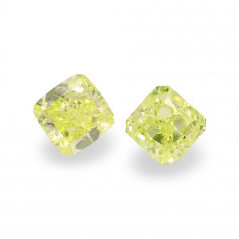 Fancy Intense Green Yellow Diamond