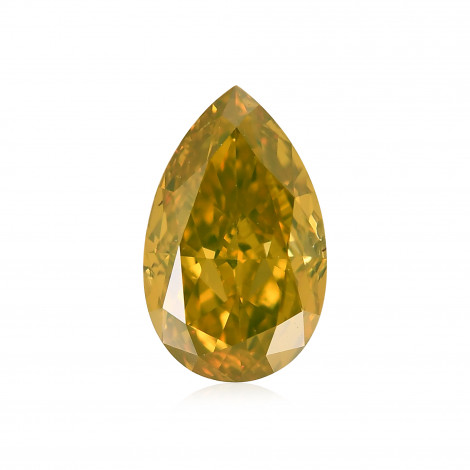 Fancy Deep Orangy Yellow Diamond