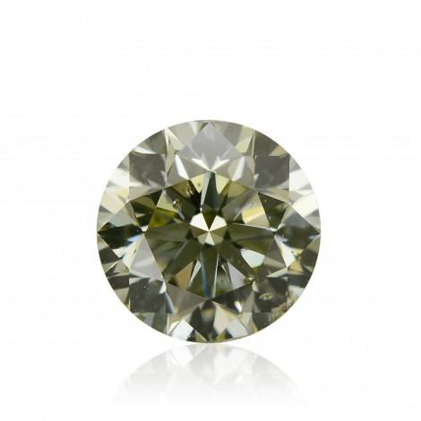 Fancy Gray Yellowish Chameleon Diamond