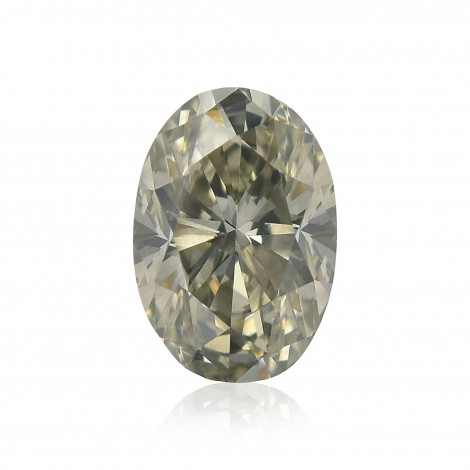 Fancy Greenish Yellow Gray Diamond