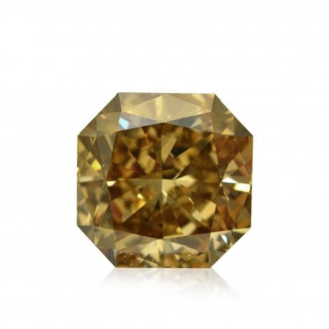 Fancy Dark Yellow Champagne Diamond