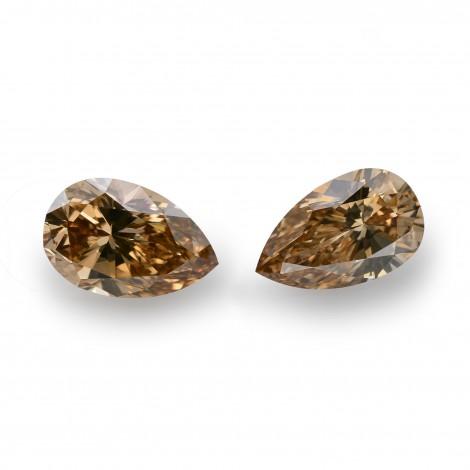 1.21 carat, Fancy Brown Yellow Diamonds, Pear Shape, VS Clarity, GIA