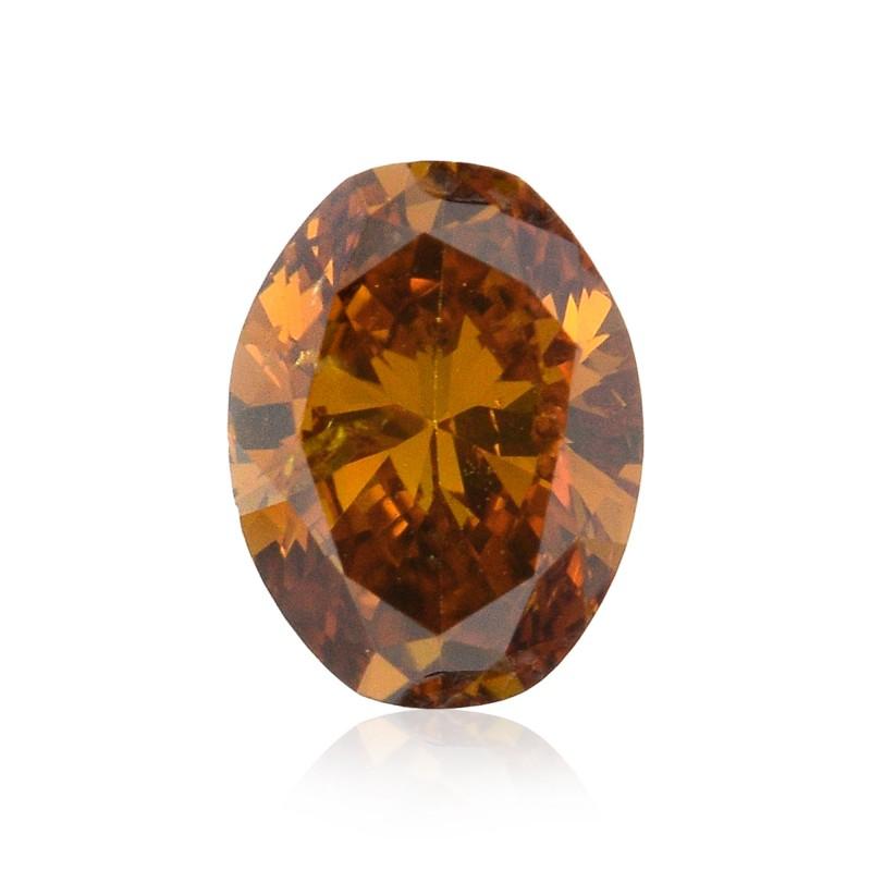Orange Oval Diamond