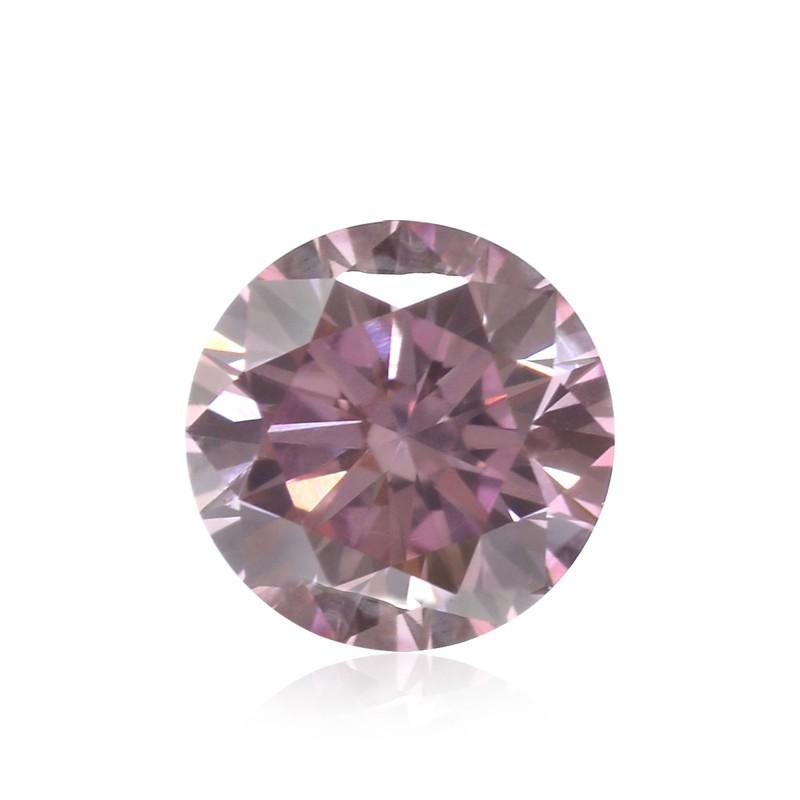0.52 carat, Fancy Intense Purplish Pink, Round Shape, VS1 Clarity, ARGYLE, SKU 123830