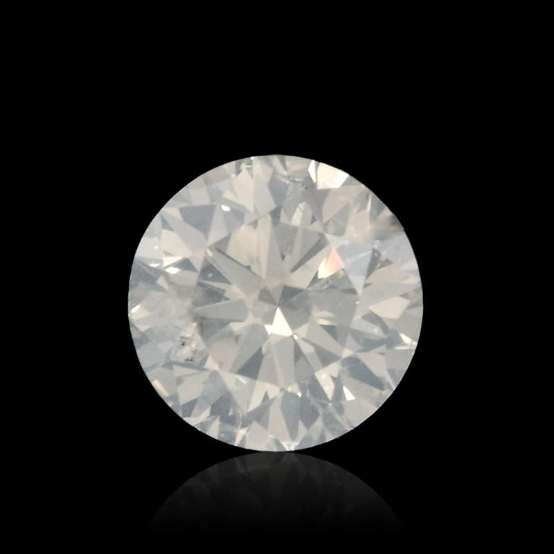 White Round Diamond