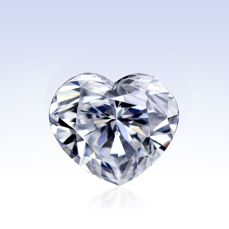 Colorless Heart Diamond
