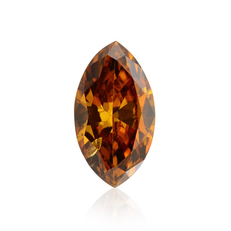 Orange Marquise Diamond