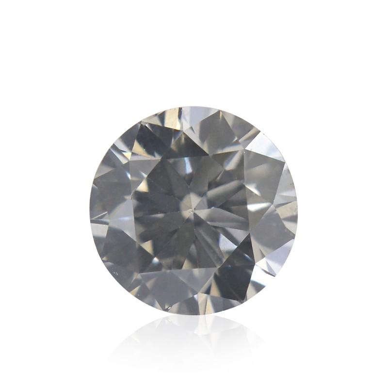 Gray Round Diamond