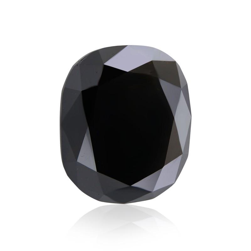 Black Cushion Diamond