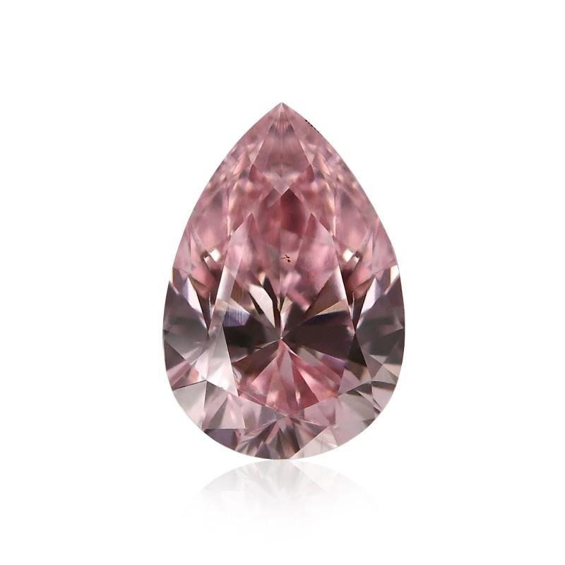 0 22 Carat Fancy Intense Pink Diamond Pear Shape I1