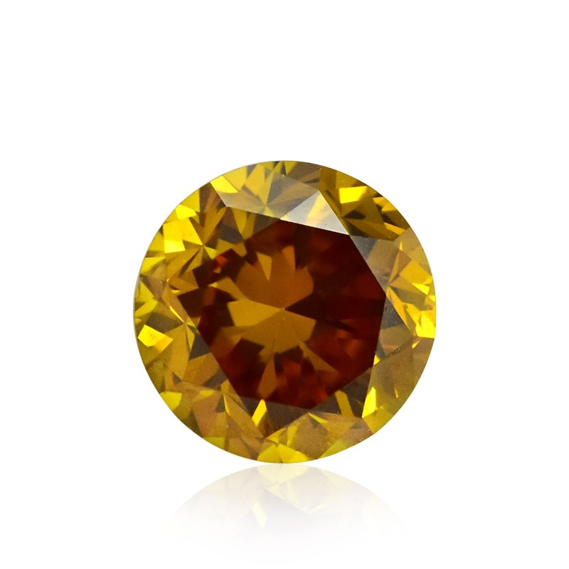 Yellow Round Diamond