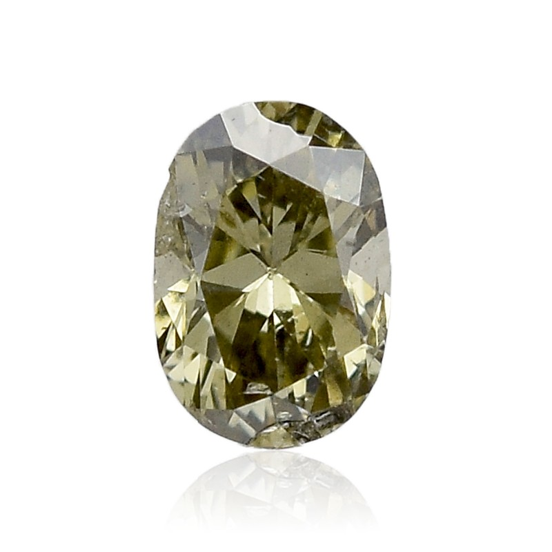 Fancy Deep Yellowish Gray Chameleon Diamond